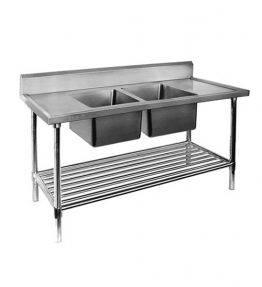 Sink Bench with Under-shelf
