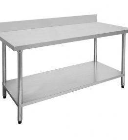 Stainless Steel Table with Splash-back