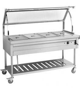 Heated Food Service Cart