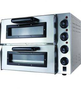 Compact Double Pizza Deck Oven