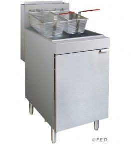 Superfast LPG Gas Tube Fryer