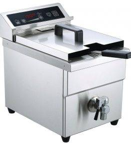 Single tank induction fryer