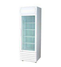 LG Single Glass Door Upright Drink Fridge