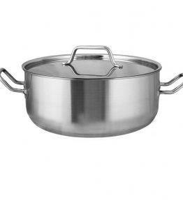 Stew Pan-Curved Rim
