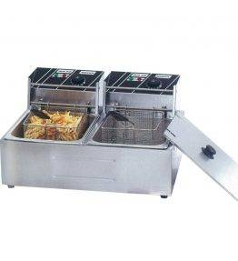 Double Tank Electric Fryer