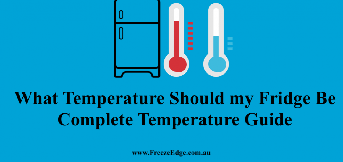 What Temperature Should my Fridge Be