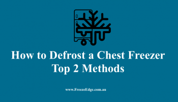 How to Defrost a Chest Freezer
